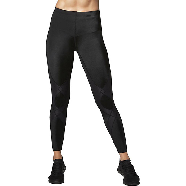 CW-X レディース フィットネス スポーツ CW-X Womens Stabilyx Joint Support Compression Tights Black