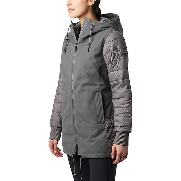 コロンビア レディース ジャケット&ブルゾン アウター Columbia Women's Boundary Bay Hybrid Jacket City Grey Heather
