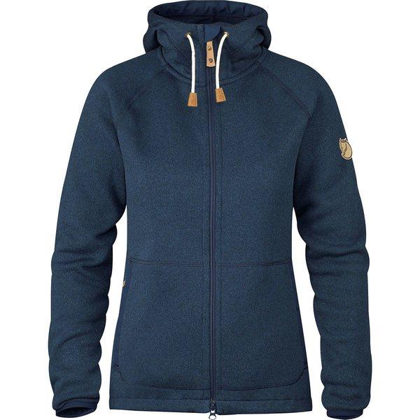 フェールラーベン レディース ジャケット&ブルゾン アウター Ovik Fleece Hooded Jacket - Women's Navy