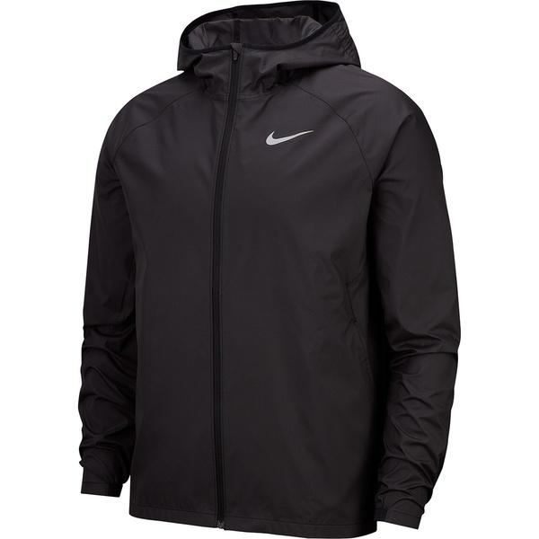 ナイキ メンズ ジャケット&ブルゾン アウター Essential Hooded Jacket - Men's Black/Reflective Silver