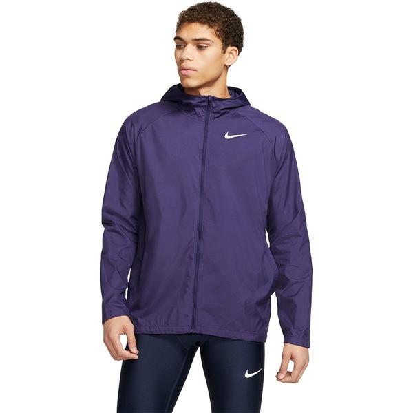 ナイキ メンズ ジャケット&ブルゾン アウター Essential Hooded Jacket - Men's Imperial Purple/Reflective Silver