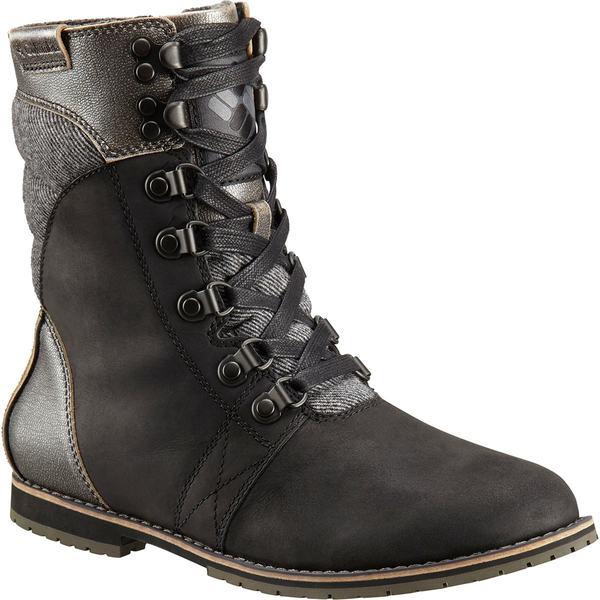 コロンビア レディース ブーツ&レインブーツ シューズ Twentythird Ave II Mid WP Boot - Women's Black/Ti Grey Steel