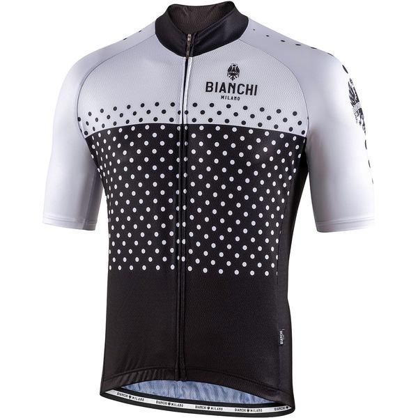 ビアンキ ミラノ メンズ サイクリング スポーツ Quirra Jersey - Men's Black/White