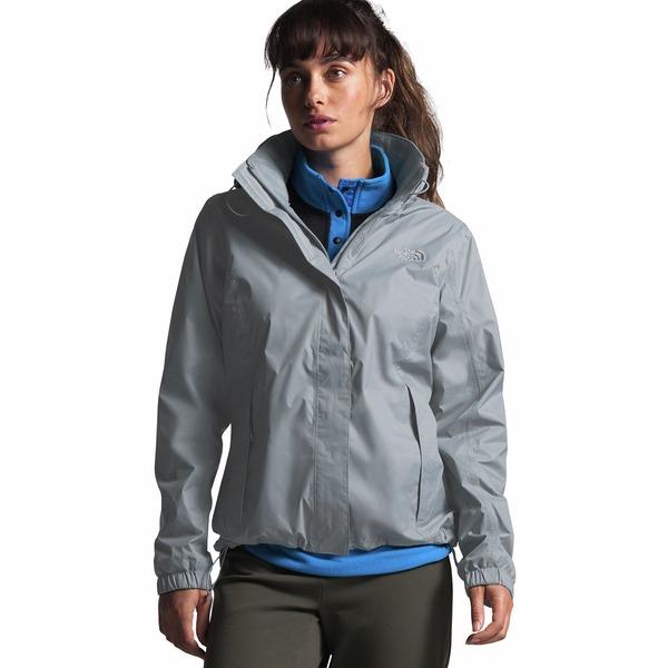 ノースフェイス レディース ジャケット&ブルゾン アウター Resolve 2 Hooded Jacket - Women's Mid Grey