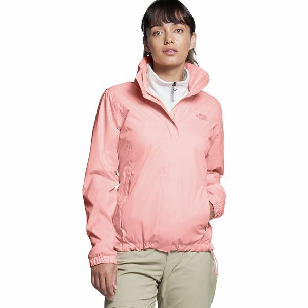 ノースフェイス レディース ジャケット&ブルゾン アウター Resolve 2 Hooded Jacket - Women's Impatiens Pink