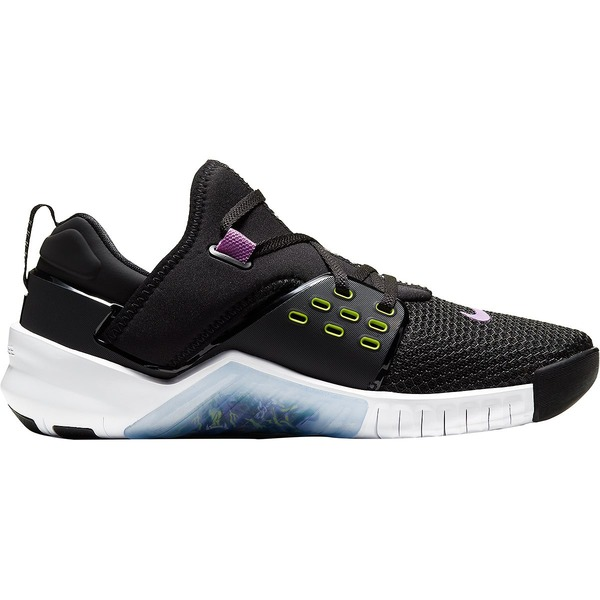 ナイキ メンズ スニーカー シューズ Free Metcon 2 Cross-Training Shoe - Men's Black/Bright Cactus-Purple Nebula-White