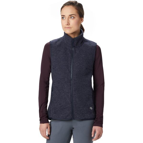 マウンテンハードウェア レディース ジャケット&ブルゾン アウター Hatcher Vest - Women's Dark Zinc