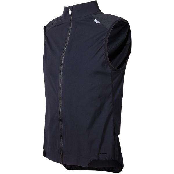 ピーオーシー メンズ サイクリング スポーツ Resistance Pro XC Wind Vest - Men's Carbon Black