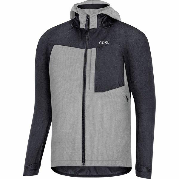 ゴアウェア メンズ サイクリング スポーツ C5 Gore-Tex Trail Hooded Jacket - Men's Black