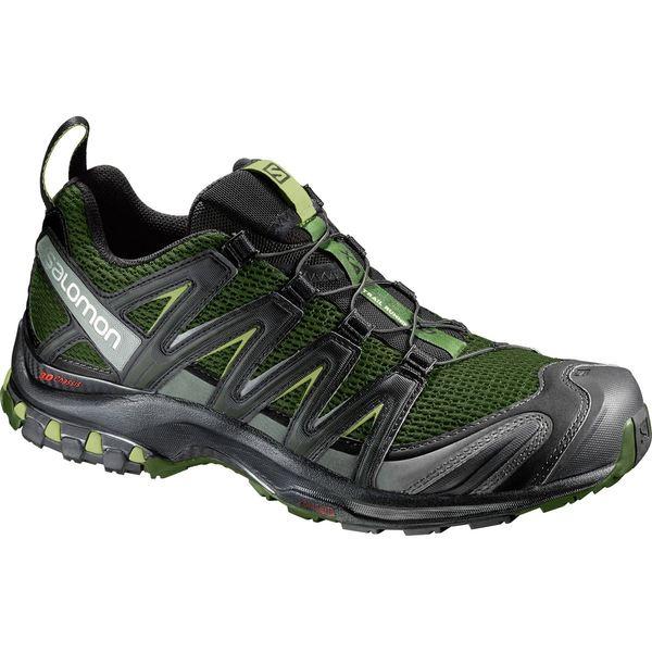サロモン メンズ スニーカー シューズ XA Pro 3D Trail Running Shoe - Men's Chive/Black/Beluga