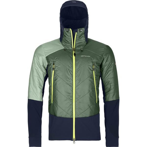 オルトボックス メンズ ジャケット&ブルゾン アウター Piz Palu Swisswool Jacket - Men's Green Forest
