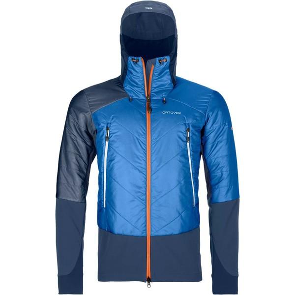 オルトボックス メンズ ジャケット&ブルゾン アウター Piz Palu Swisswool Jacket - Men's Safety Blue