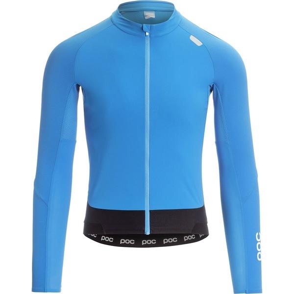 ピーオーシー メンズ サイクリング スポーツ Resistance Pro XC Zip Long-Sleeve Jersey - Men's Furfural Blue