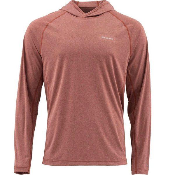 シムズ メンズ シャツ トップス SolarFlex Hooded Pullover - Men's Rusty Red Heather