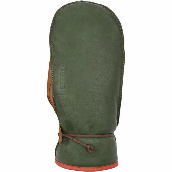 ヘストラ メンズ 手袋 アクセサリー Wakayama Mitten Forest/Cork