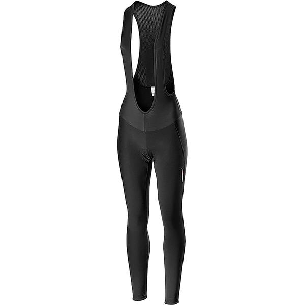 カステリ レディース サイクリング スポーツ Meno Wind Bib Tight - Women's Black