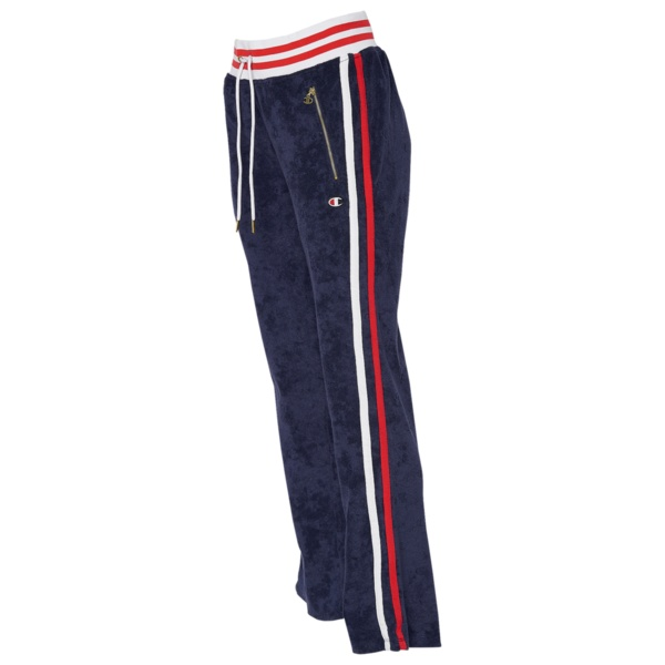 チャンピオン レディース カジュアルパンツ ボトムス WarmUp Slim Flare Pant Indigo