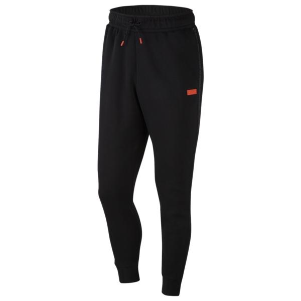 ナイキ メンズ カジュアルパンツ ボトムス LeBron Pants Lebron James | Black/Team Orange