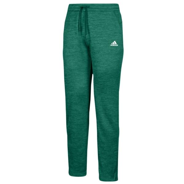 アディダス レディース カジュアルパンツ ボトムス Team Issue Fleece Pants Dark Green/White