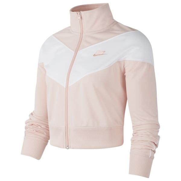 ナイキ レディース ジャケット&ブルゾン アウター Heritage Track Jacket Echo Pink/White