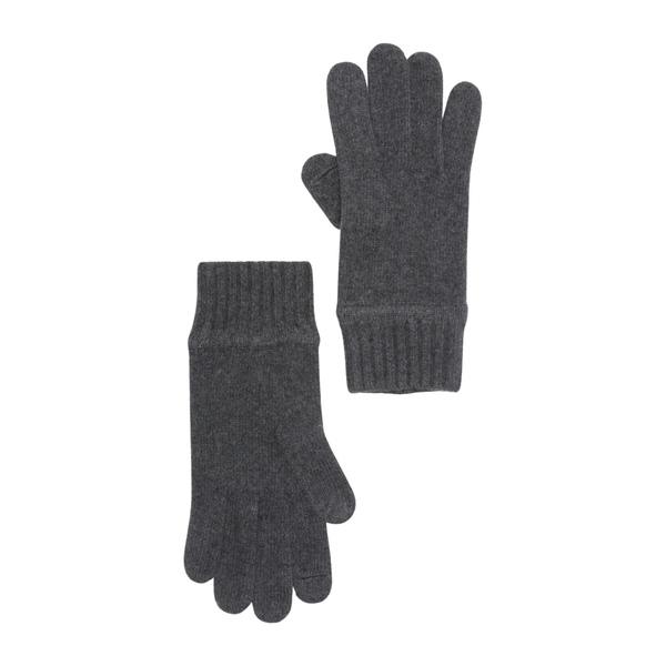 ポートラノ メンズ アクセサリー 手袋 DK GREY Gloves 祝開店大放出セール開催中 最新 H Cashmere 全商品無料サイズ交換