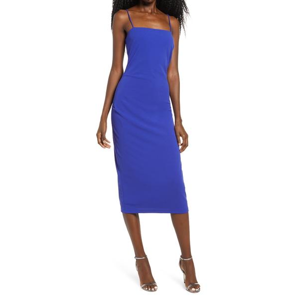 ワイフ 価格 レディース トップス ワンピース ULTRA VIOLET 全商品無料サイズ交換 Dress Cami Ruched Midi The Bea 有名な