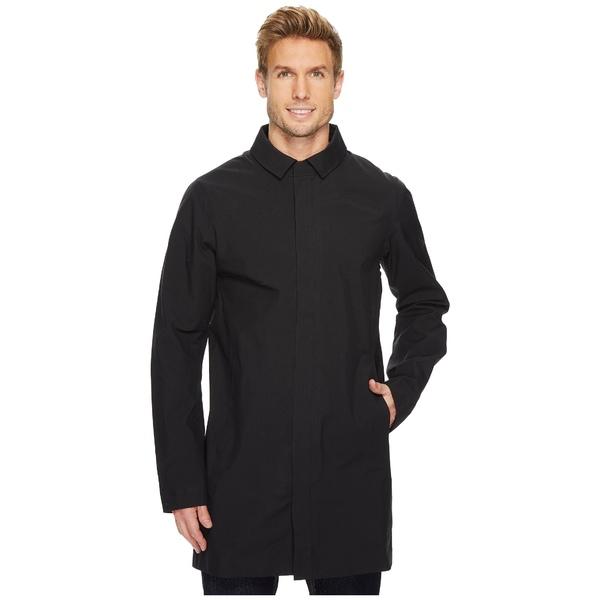 アークテリクス メンズ コート アウター Keppel Trench Coat Black