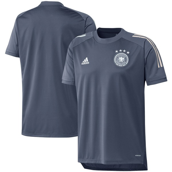 アディダス メンズ ユニフォーム トップス Germany National Team adidas 2020 Federation Training Jersey Gray