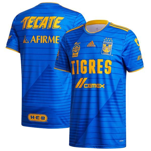 アディダス メンズ ユニフォーム トップス Tigres UANL adidas 2020/21 Away Replica Jersey Blue