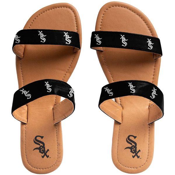 フォコ レディース サンダル シューズ Chicago White Sox Women's Double Strap Sandals