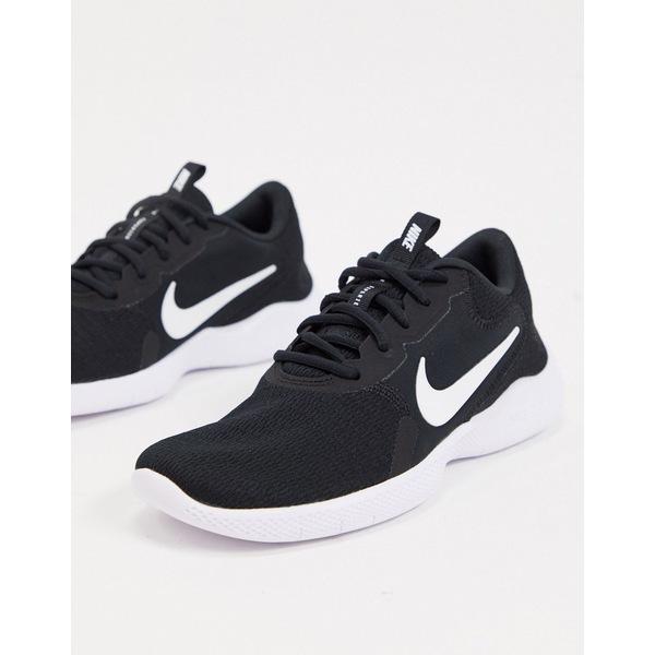 ナイキ レディース スニーカー シューズ Nike Running Flex Experience sneakers in black Black