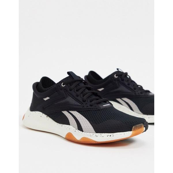 リーボック レディース スニーカー シューズ Reebok training HIIT TR sneakers in black Black