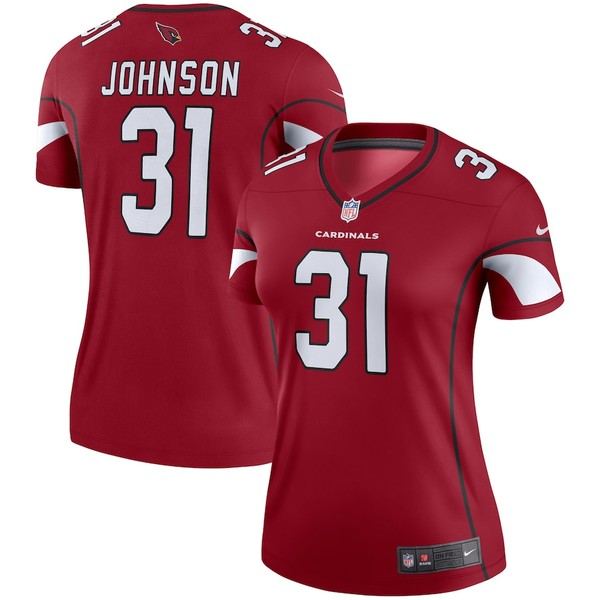 ナイキ レディース シャツ トップス David Johnson Arizona Cardinals Nike Women's Legend Jersey Cardinal