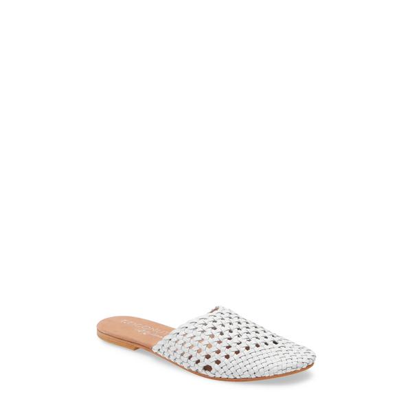 ココナッツバイマッテシィ レディース サンダル シューズ Island Mule White Leather