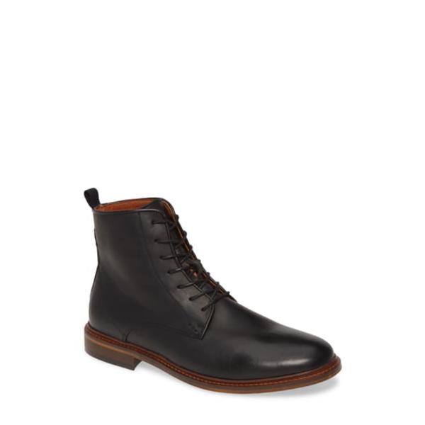 シューザベア メンズ ブーツ&レインブーツ シューズ Ned Plain Toe Boot Black Leather