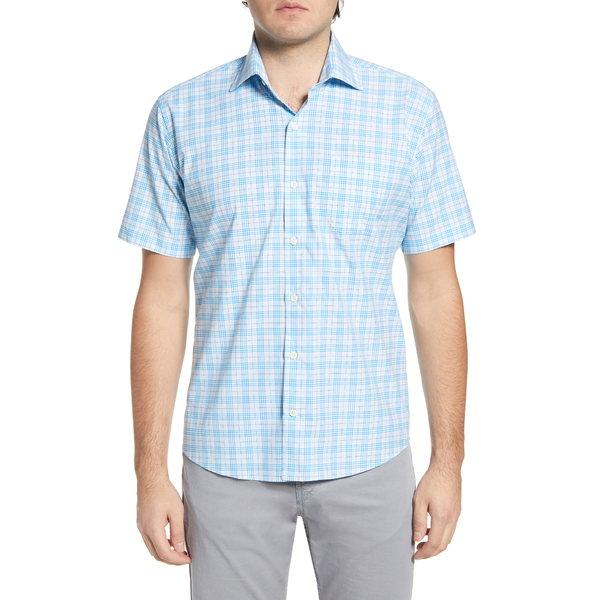 ピーター・ミラー メンズ シャツ トップス Quint Glen Plaid Short Sleeve Button-Up Shirt Riverbed