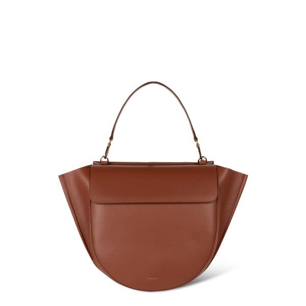 ワンドラー レディース ショルダーバッグ バッグ Hortensia Big Shoulder Bag Tan