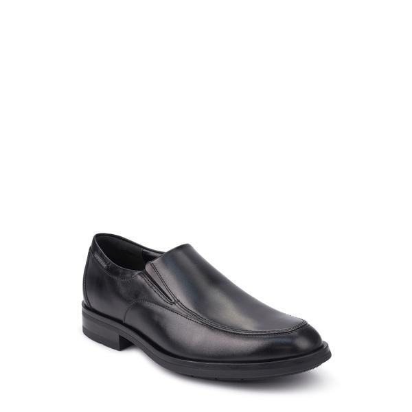 メフィスト メンズ スリッポン・ローファー シューズ Salvatore Venetian Loafer Black Leather