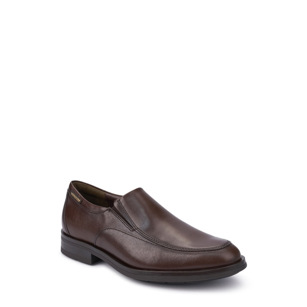 メフィスト メンズ スリッポン・ローファー シューズ Salvatore Venetian Loafer Dark Brown Leather