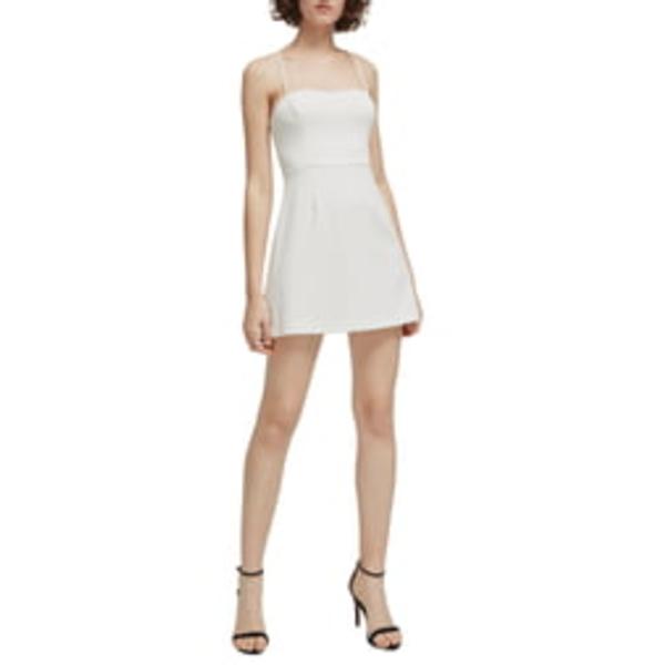 フレンチコネクション レディース ワンピース トップス Whisper Light Sweetheart Minidress Summer White