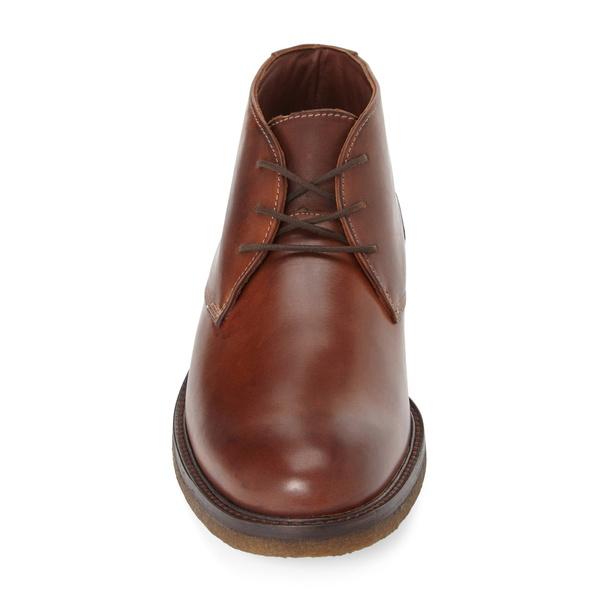 ジョンストンアンドマーフィー メンズ ブーツ レインブーツ シューズ 'Copeland' Suede Chukka Boot Brown LeatherPuXikZ