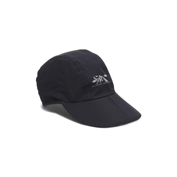 オフホワイト メンズ 帽子 アクセサリー Equipment Mountain Graphic Baseball Cap Black Silver