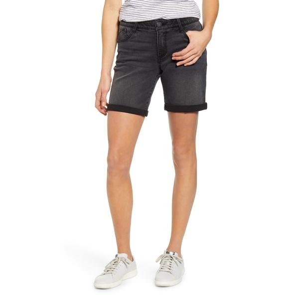 ウィットアンドウィズダム レディース カジュアルパンツ ボトムス Ab-Solution White Denim Shorts Bk-Black