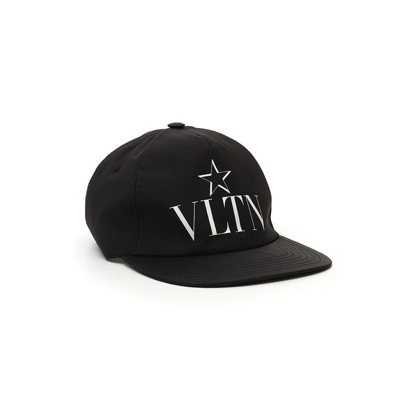 ヴァレンティノ ガラヴァーニ レディース ヘアアクセサリー アクセサリー VLTN Star Baseball Cap Nero/ Bianco
