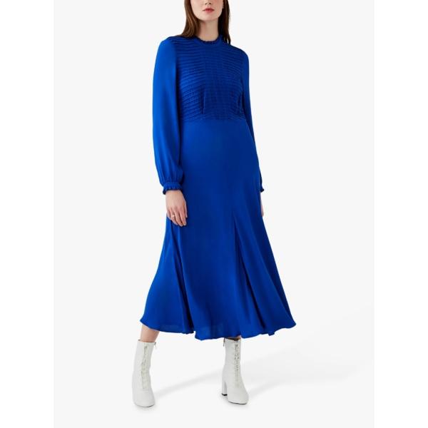 魅力の ゴースト - レディース ワンピース トップス Ghost Blue Una Ghost Tea Dress, Cobalt Blue -, 上川郡:4806a149 --- sturmhofman.nl