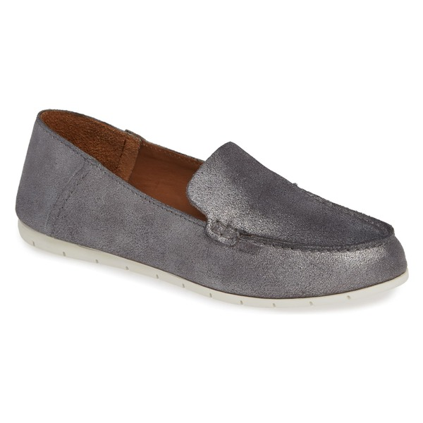 フライ レディース サンダル シューズ Frye Sedona Venetian Loafer (Women) Silver Leather