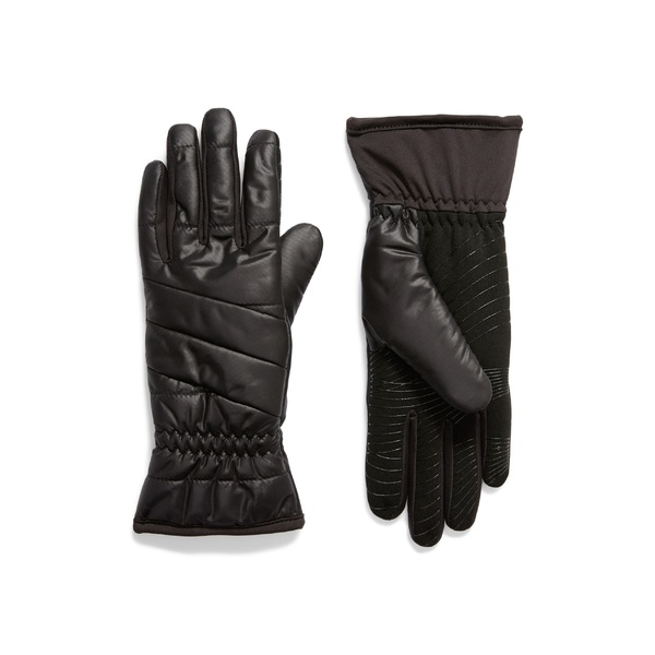 ユーアール レディース 手袋 アクセサリー U|R Weatherproof Touchscreen-Compatible Gloves Black