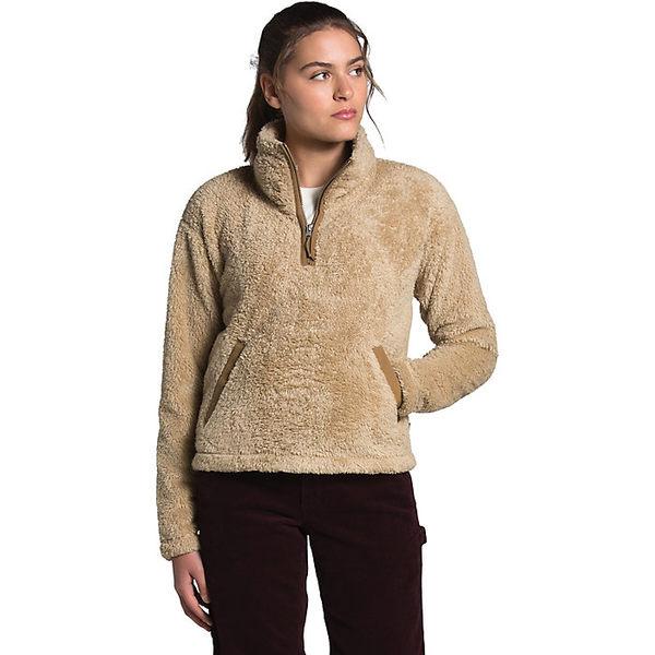 ノースフェイス レディース ジャケット&ブルゾン アウター The North Face Women's Furry Fleece Pullover Hawthorne Khaki-Utility Brown