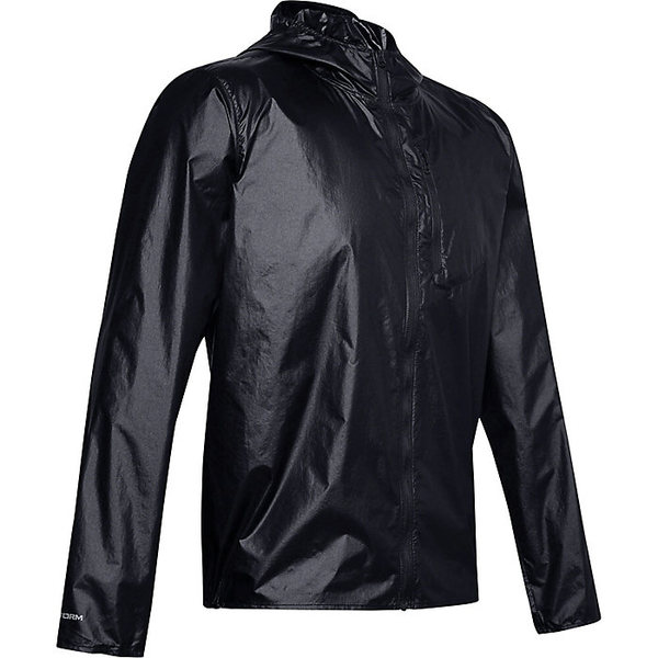 アンダーアーマー メンズ ジャケット&ブルゾン アウター Under Armour Men's OD Impasse Wind Jacket Black / Jet Grey / Jet Grey