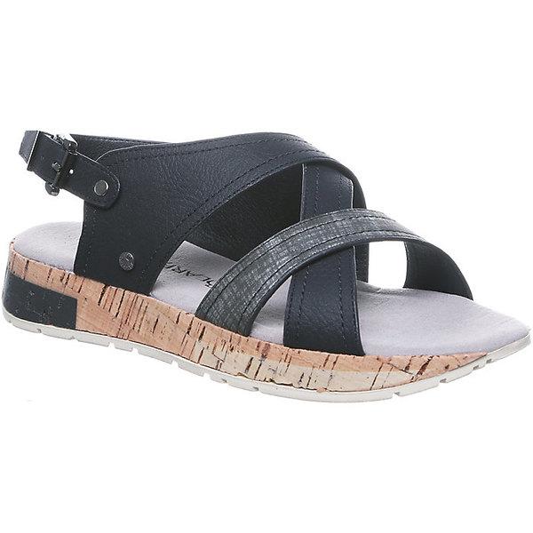 ベアパウ レディース サンダル シューズ Bearpaw Women's Shelly Sandal Black / Grey
